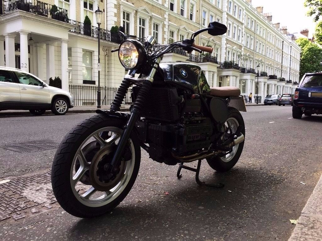 bmw k100 cafe racer brat custom motorcycle bmw k100 lt in south east london london gumtree. Black Bedroom Furniture Sets. Home Design Ideas