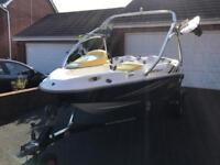 Seadoo Sportster/Speedster 2006 Jet boat with Wakeboard Tower