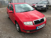 2004 SKODA FABIA 1.9 TDI MOT MAY 2018 FULL SERVICE HISTORY NEW CAMBELT LAST YEAR