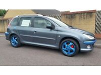 Swap Peugeot 206 1.6 Diesel Estate For MPV.
