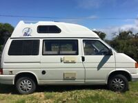VW Transporter T4 Campervan Holdsworthy Conversion with High Top