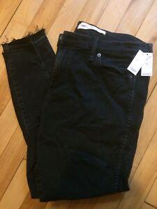 Jeans noir GAP 33R taille plus NEUF