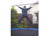 Trampoline 12 foot round with safety netting and padding
