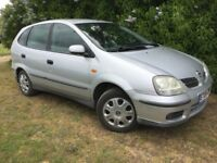 2004 NISSAN - ALMERA TINO - SUPER RELIABLE - GREAT FAMILY CAR