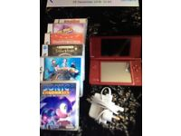 AS NEW DS XL WITH CHARGER AND GAMES