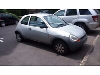 Ford KA, 2002 - Runner | MOT August | £250 | Quick Sale | Low Tax | Low Fuel Cost | Low Insurance