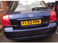 Toyota Avensis T3-X D-4D (With Faulty Clutch)