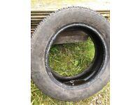 195 60 15 Goodyear part worn 6mm