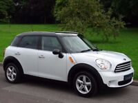 2011 MINI Countryman 1.6 Cooper 5dr Automatic Gearbox - ONLY 32,000 MILES