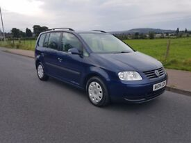 Volkswagen Touran 1.9 TDI PD S 100PS (blue) 2004