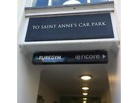 24-hr access to secure and convenient St. Anne's Square Car Park Belfast