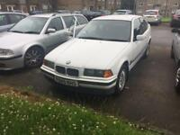 BMW 318ti compact 1996 white spares or repairs