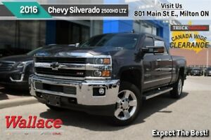 2016 Chevrolet SILVERADO 2500HD LTZ/ACCIDENT-FREE/1-OWNER/Z71/HD