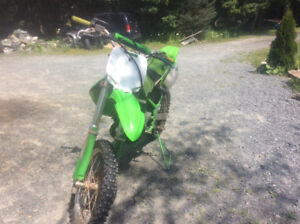 1998 Kawasaki kx 80 for sale or may trade for another dirtbike