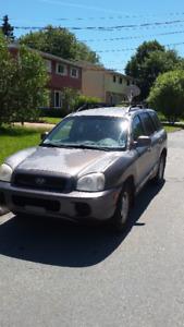2004 Hyundai Santa Fe SUV,