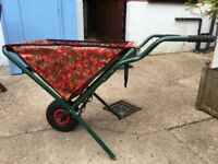 Foldable Festival Canvas Wheelbarrow