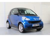 2010 SMART FORTWO 1.0 PULSE AUTO EXTENSIVE SERVICE HISTORY | JULY 2018 MOT