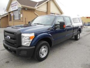 2011 FORD F250 XL Super Duty Crew Cab 8Ft Box ONLY 45,000KMs