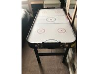 Large air hockey table.