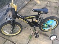 Rare Harry Potter bike 16 inch wheels