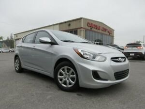 2014 Hyundai Accent GL 6SPD, HTD. SEATS, BT, JUST 40K!