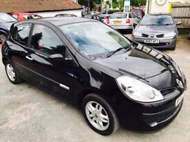 Renault Clio 1.2 petrol rip-curl full service history 40000 miles