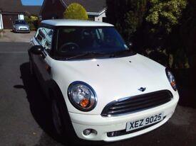 White Mini One , very good condition