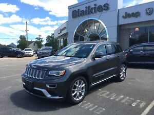 2016 Jeep Grand Cherokee Summit | 4X4 | DVD | HEATED/VENTILATED