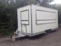 Mobile Catering Box Trailer, Burger van