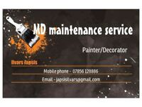 Painting,decorating,plastering