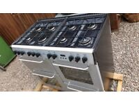 Cooker gas hob/electric ovens 1000mm