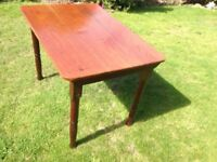 Small Solid Oak Dining Table