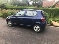 Automatic Toyota Yaris cdx 5 door valid mot ideal learners car cheap running and insurance