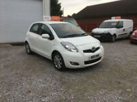 2011 TOYOTA YARIS 1.3. VVT-i T -SPIRIT 5 DR, 40000 MILES WITH SERVICE HISTORY