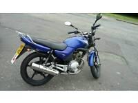 Yamaha YBR 125 Blue .year 2007