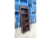SMALL OLD WOODEN BOOKCASE