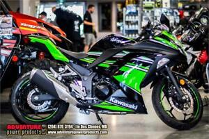 2016 Kawasaki Ninja 300 Kawasaki Racing Team Edition - Only $44