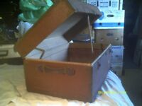 """A BIG OLD TRUNK , STORES LOADS of STUFF , 30"""" by 18"""" by 14"""" . ++++++"""