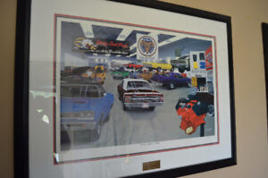 Dave Snyder Mopar Prints Professionally Framed