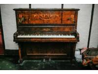 Piano in need of restoration