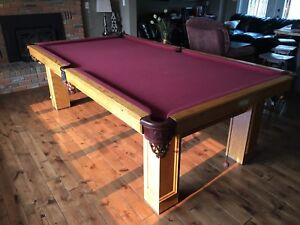 National 3/4 Snooker Table / Pool Table