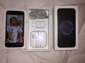 Space grey iPhone 6 16GB FIDO