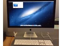 "iMac 27"" in perfect condition under consumer warranty"