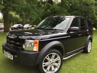 LANDROVER DISCOVERY 3 TDV6 55 REG 6 SPEED MANUAL 2 OWNERS F.L.R.S.H 170000 MILES LOW TAX BRACKET