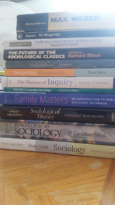 12 Sociology Texts from LU