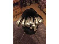 Ping eye 2 ( green dot) iron set with mizuno bag
