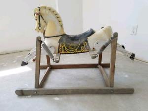 Davey Crocket spring horse
