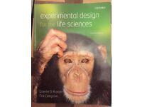 EXPERIMENTAL DESIGN FOR THE LIFE SCIENCES – Graham D Ruxton, Nick Colgrove. Third Edition