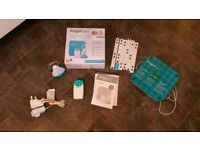 Angel care baby monitor and sensor pad