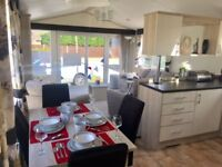 REDUCED BRAND NEW STATIC CARAVAN FOR SALE 41FT LONG. SITED ON NORFOLK COAST 2017 SITE FEES INCL.